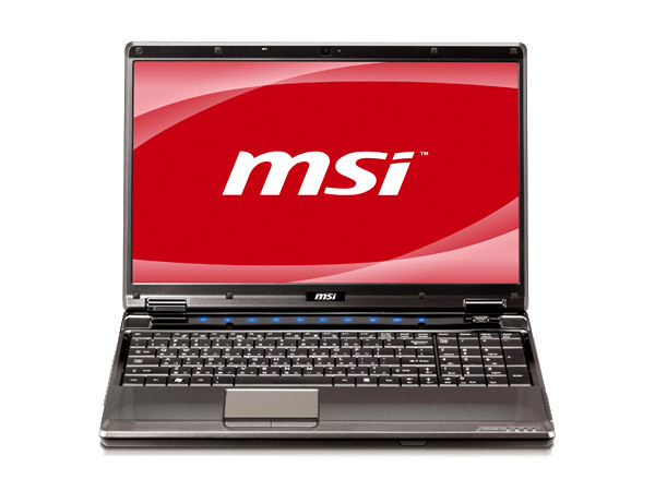 MSI GE600 notebook