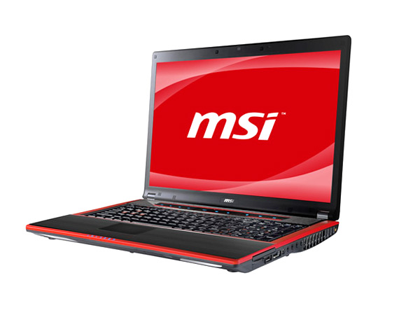 MSI GT740 laptop